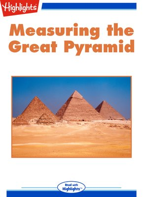 cover image of Measuring the Great Pyramid
