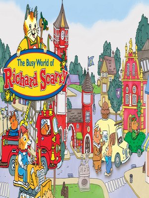 cover image of Busy World of Richard Scarry