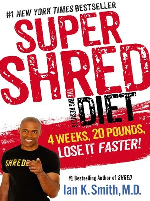 cover image of Super Shred--The Big Results Diet
