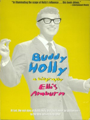 cover image of Buddy Holly--A Biography