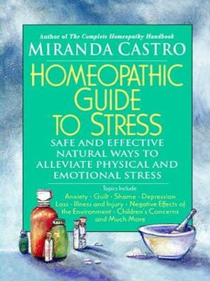 cover image of Homeopathic Guide to Stress