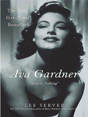 cover image of Ava Gardner
