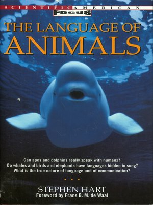 cover image of The Language of Animals