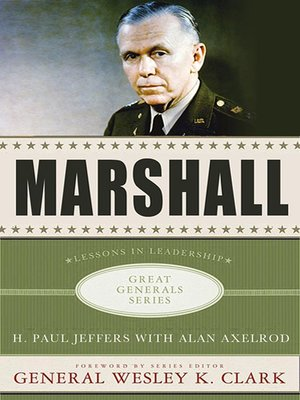 cover image of Marshall--Lessons in Leadership