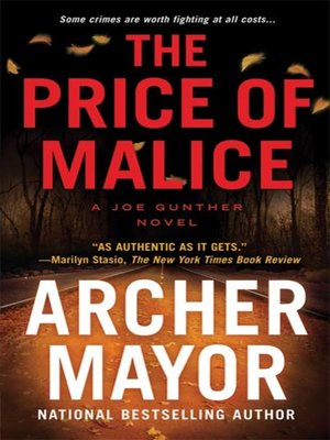 cover image of The Price of Malice