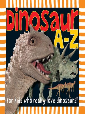 cover image of Dinosaur a to Z