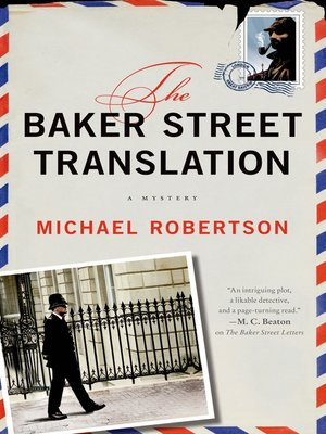 cover image of The Baker Street Translation