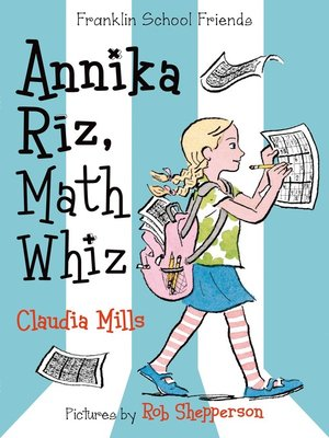 cover image of Annika Riz, Math Whiz