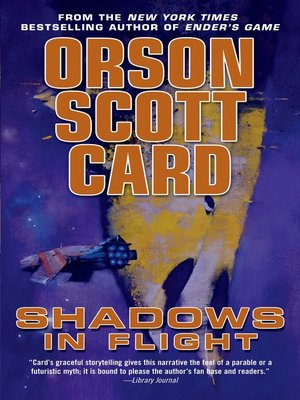 cover image of Shadows in Flight