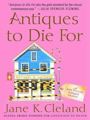 cover image of Antiques to Die For