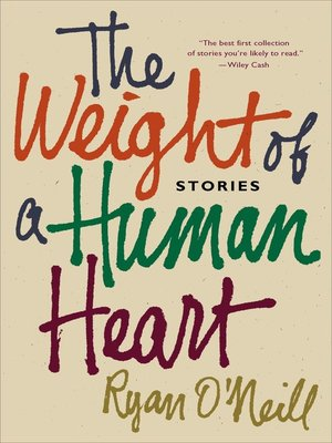 cover image of The Weight of a Human Heart