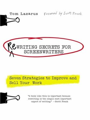 cover image of Rewriting Secrets for Screenwriters