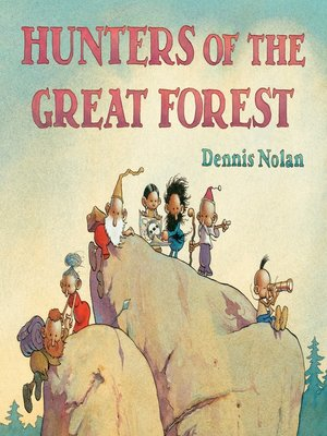 cover image of Hunters of the Great Forest