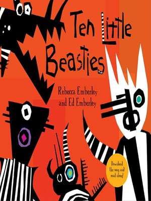 cover image of Ten Little Beasties