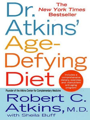cover image of Dr. Atkins' Age-Defying Diet