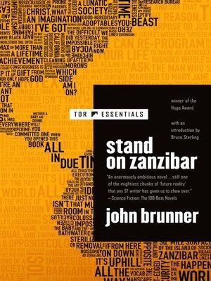 cover image of Stand on Zanzibar