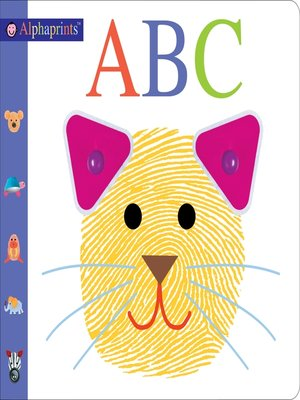 cover image of Alphaprints--ABC