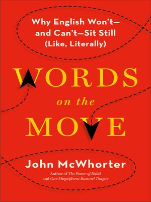 cover image of Words on the Move