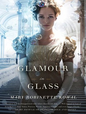cover image of Glamour in Glass