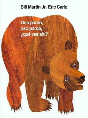 cover image of Oso pardo, oso pardo, ¿qué ves ahí?