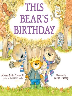 cover image of This Bear's Birthday