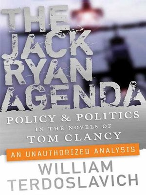 cover image of The Jack Ryan Agenda
