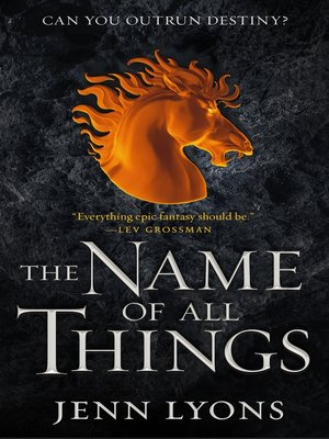 cover image of The Name of All Things
