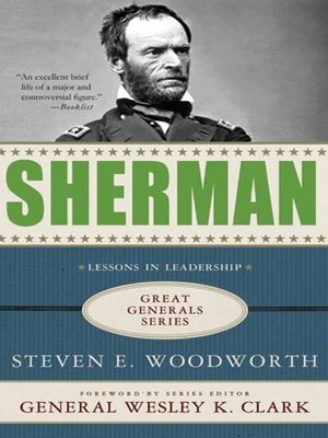 cover image of Sherman--Lessons in Leadership