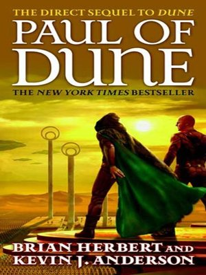 cover image of Paul of Dune