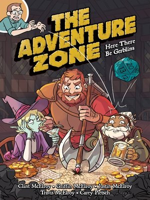 The Adventure Zone by Clint McElroy Book Cover