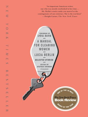 cover image of A Manual for Cleaning Women
