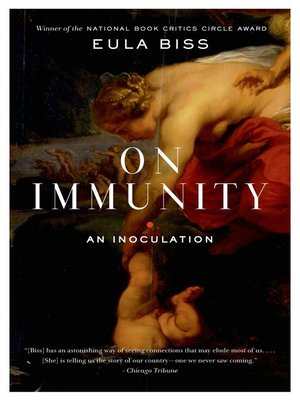 cover image of On Immunity