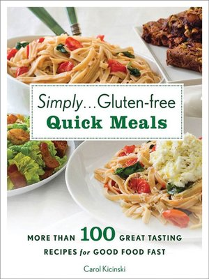 cover image of Simply . . . Gluten-free Quick Meals