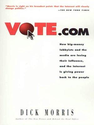 cover image of Vote.com