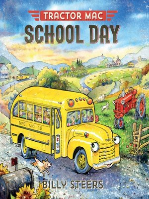cover image of Tractor Mac School Day