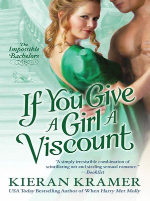 cover image of If You Give a Girl a Viscount