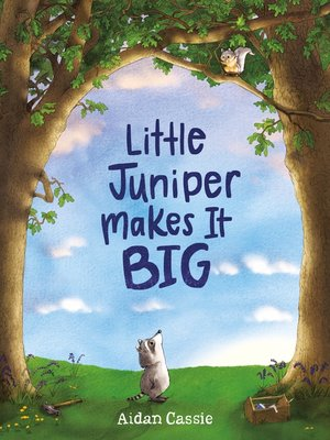 cover image of Little Juniper Makes It BIG