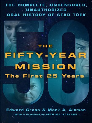cover image of The Fifty-Year Mission: The First 25 Years