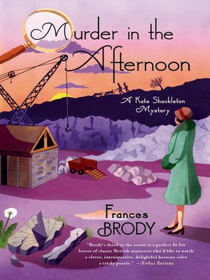 cover image of Murder in the Afternoon