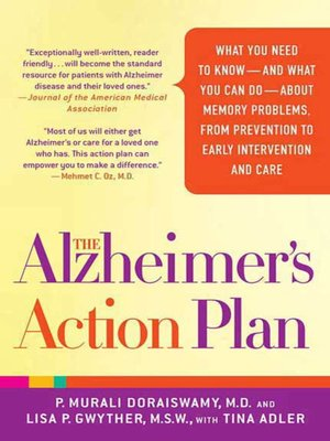 cover image of The Alzheimer's Action Plan
