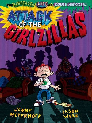 cover image of Attack of the Girlzillas