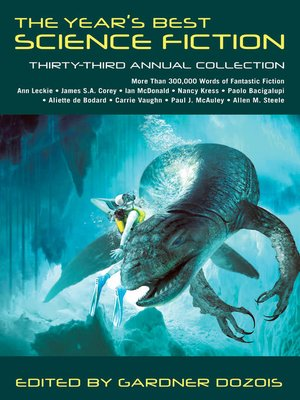 cover image of The Year's Best Science Fiction, Thirty-Third Annual Collection