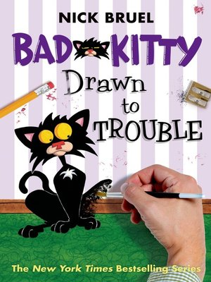 cover image of Bad Kitty Drawn to Trouble