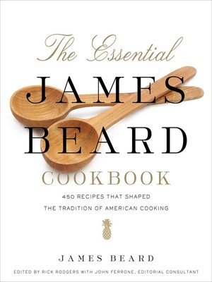cover image of The Essential James Beard Cookbook