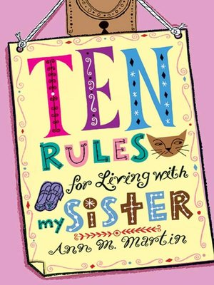 cover image of Ten Rules for Living with My Sister