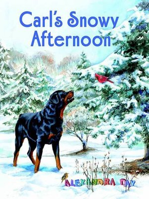 cover image of Carl's Snowy Afternoon