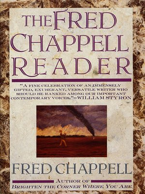 cover image of The Fred Chappell Reader