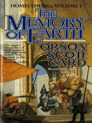 cover image of The Memory of Earth--Homecoming