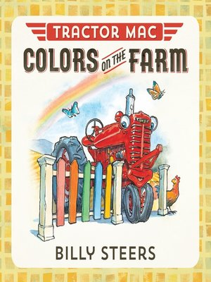 cover image of Tractor Mac Colors on the Farm