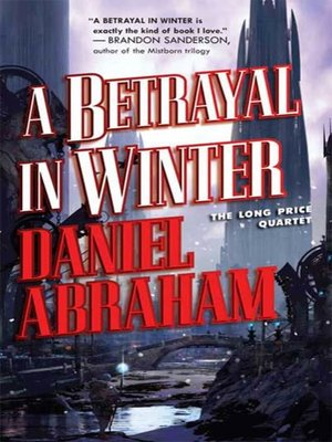 cover image of A Betrayal in Winter